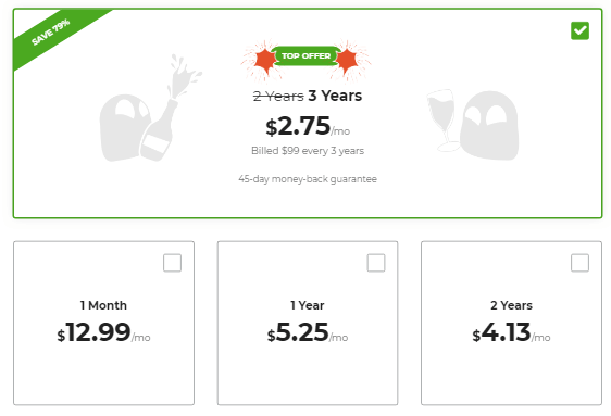 CyberGhost VPN Price and Discount