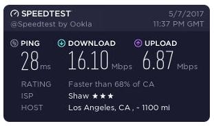 VyprVPN Speed Test