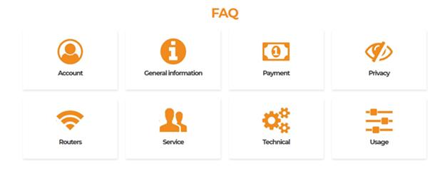 Goose VPN FAQs Section