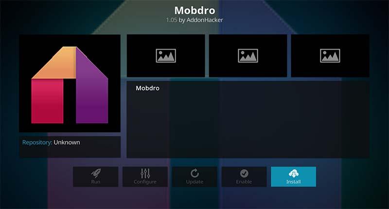 Mobdro Install