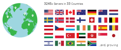 Private Internet Access VPN Servers Location