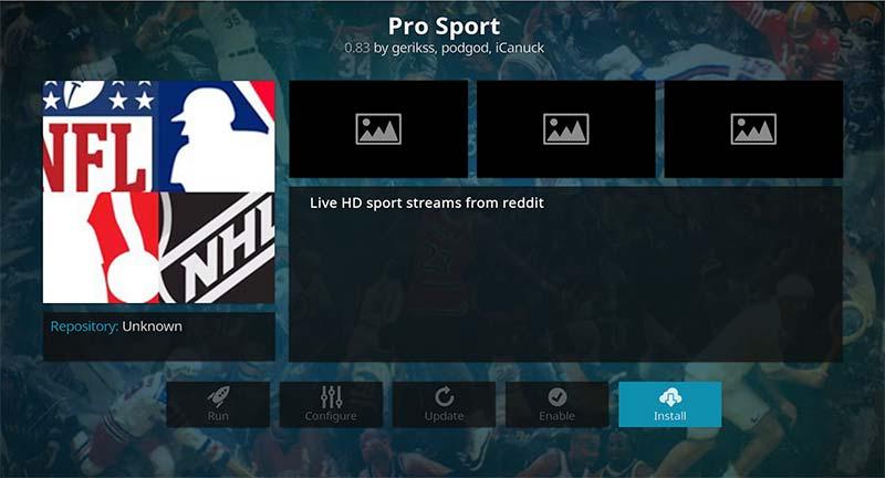 Pro Sport Install
