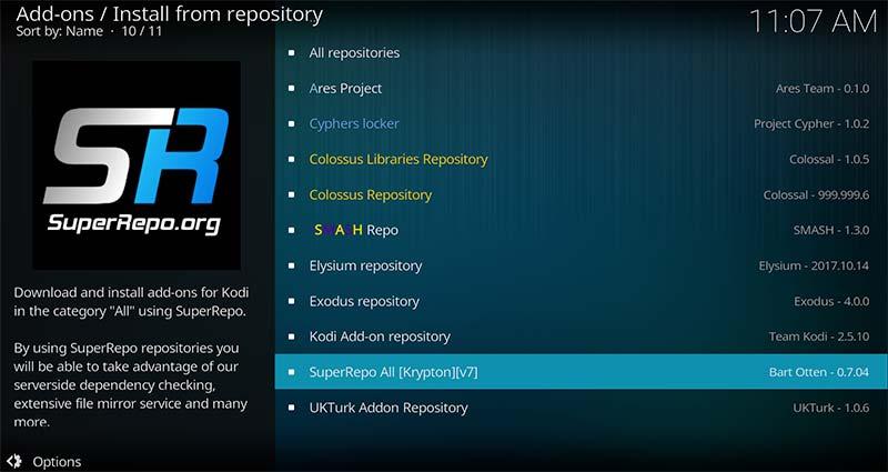 Superrepo install repository