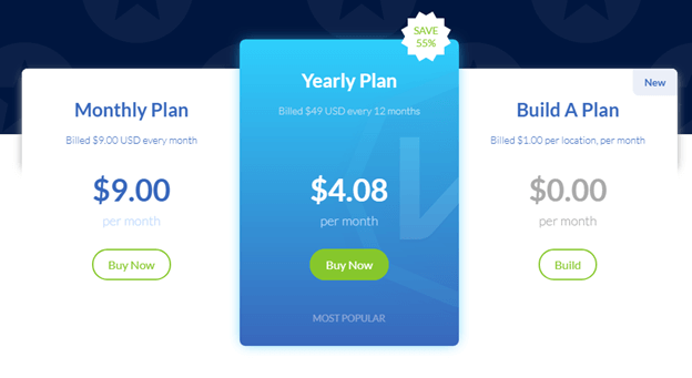 Windscribe VPN Pricing Plan