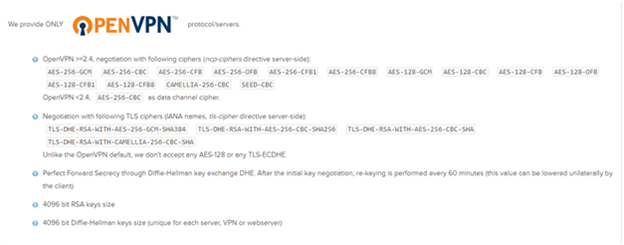 AirVPN Encryption