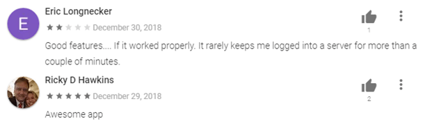 PrivateVPN Android App User Reviews
