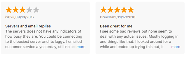 PrivateVPN iOS App User Reviews