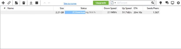 TorrentDownloads Download Speed