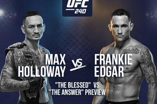 Stream UFC 240 Live Online – Holloway vs Edgar - All Best VPN