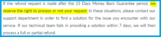 iBVPN Refund Policy