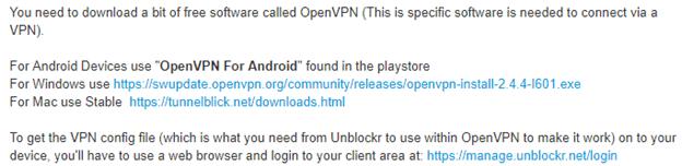 Unblockr Protocols